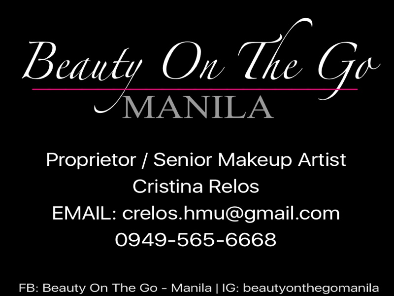 Beauty on The Go- Manila ( MC Relos Makeup Artistry )