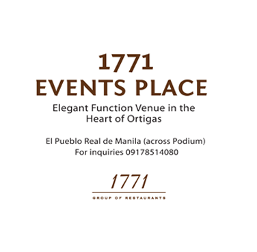 1771 Events Place (Culinary Innovators Inc.)